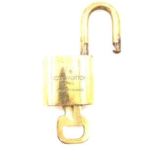 Louis Vuitton Accessories - Lock Keepall Speedy Alma Brass and Key Set #308